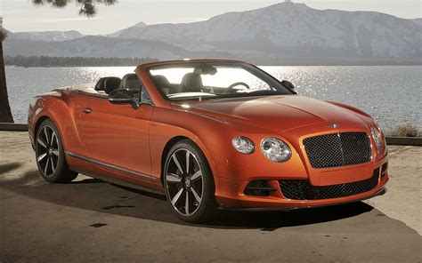 bentley continental gt speed convertible wallpapers