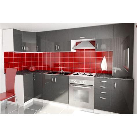 canapé d angle pas cher cuisine complète d 39 angle oxane pas cher en laqué brillant