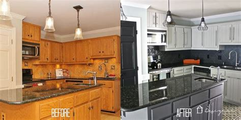 diy kitchen cabinet painting before and after how to paint kitchen cabinets without sanding or priming 152