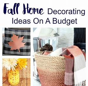Fall, Home, Decorating, Ideas, On, A, Budget