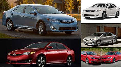 toyota msrp toyota camry all years and modifications with reviews