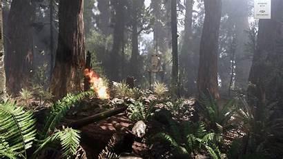 Wars Battlefront Cryengine Frostbite Endor Engine Scene