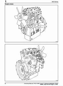 Perkins 400 Series Diesel Engines Workshop Manual Pdf