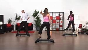 Fitnessraumde Step Aerobic Fatburner Basic Youtube