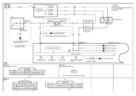 Repair Guides Instrument Cluster