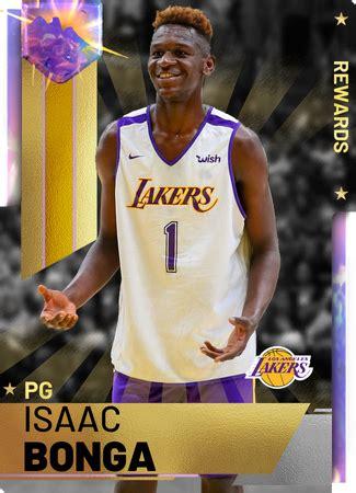 isaac bonga nba  custom card kmtcentral