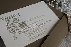 old english wedding invitation pocket envelope magva With classic english wedding invitations