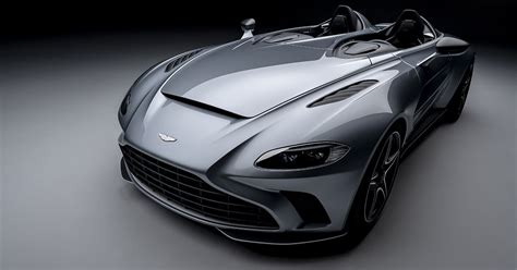 aston martin  speedster supercar debuts   roof