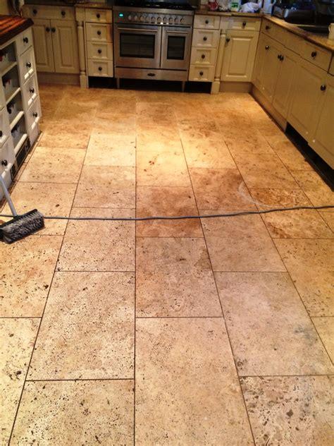 cleaning limestone floors kitchen tiled floor south buckinghamshire tile doctor 5458