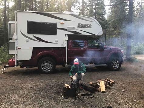 lance truck camper truck camper  alaska ak