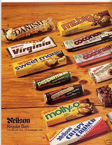 Bar Canada by Neilson Ad 4 Sweetest Candies Canadian Chocolate Bars