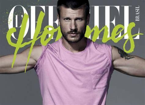 Rodrigo Hilbert está na capa da L'Officiel Hommes Brasil ...