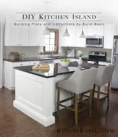 building a kitchen island build a diy kitchen island build basic