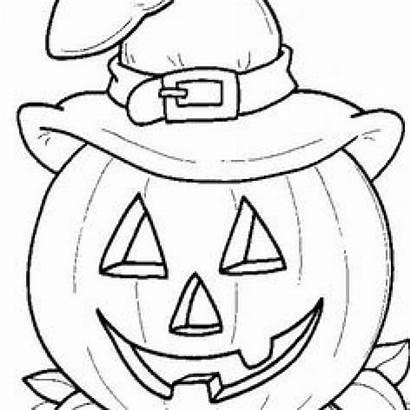 Pumpkin Coloring Pages Printable Face Pumpkins Faces
