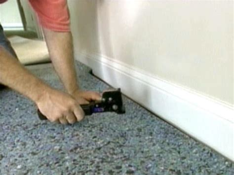 installing carpet with attached pad how to install wall to wall carpet yourself how tos diy