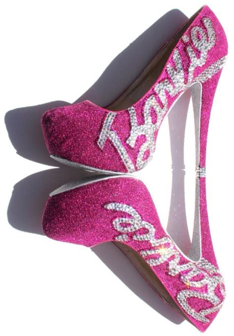 Heals Sofas by Shoes Barbie High Heels Glitter Pink Heels Pink