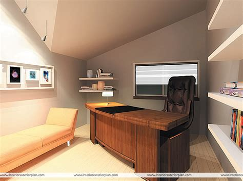 Interior Exterior Plan  Office With Personal Touch