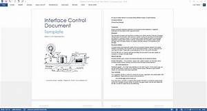 interface control document template technical writing tips With interface design document template