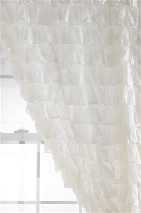 waterfall ruffle curtain eclectic curtains by