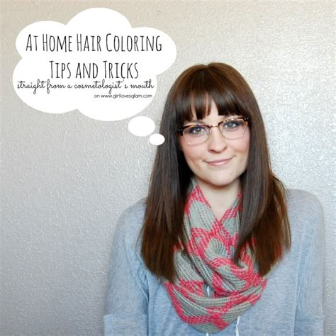 Coloring Hair At Home by At Home Hair Coloring Tips And Tricks Glam