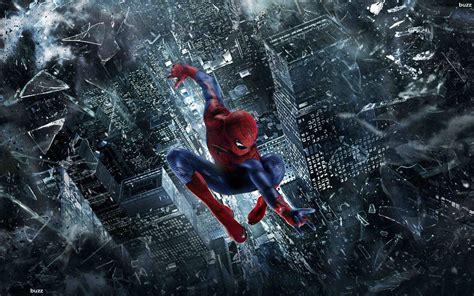Spiderman Jumping Wallpaper