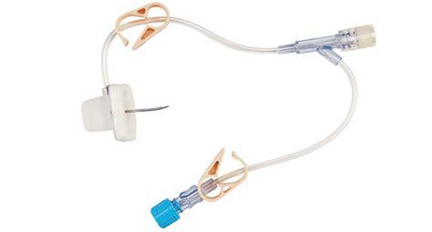 gripper chambre implantable dispositif avec aiguille de huber deltec gripper y site