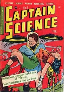 Captain, Science, 1950, Comic, Books