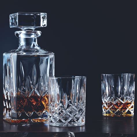 Whiskey Glas Kristall by Nachtmann Noblesse Decanter And Whisky Glass Set