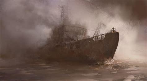 Godspeed You Black Emperor Wallpaper Ghost Boat By Milkduster On Deviantart