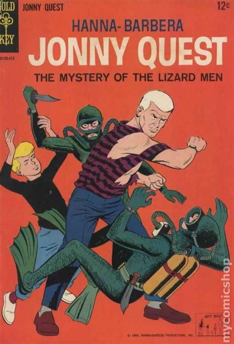 jonny quest  gold key comic books