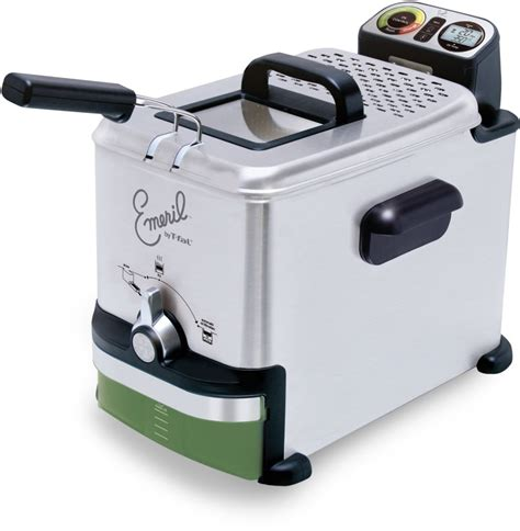 fryer deep emeril oil fal clean stainless fryers steel system easy digital control liter pound silver filter advanced ez electric