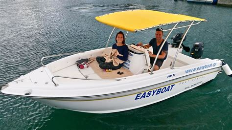 Olympic Boat by Olympic 490 Easyboat Boat Rental
