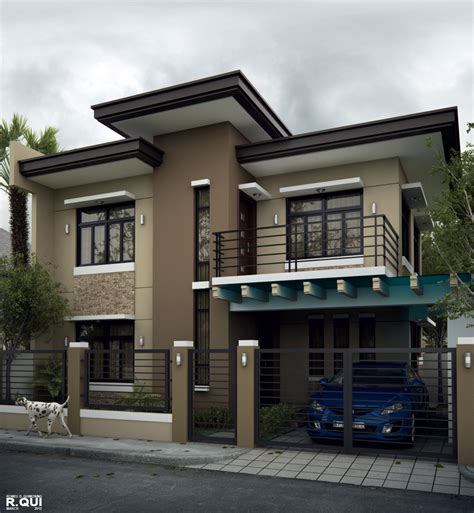 House Design by Alluring Modern Residential House Home Design