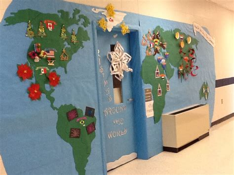 decorating ideas for christmas around the world door decorating contest prek door decorating contest doors