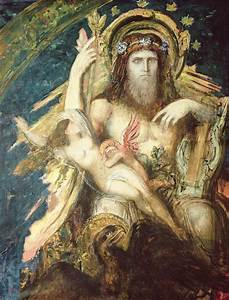 Jupiter And Semele Painting by Gustave Moreau