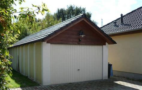 Satteldach Garagen Satteldachgaragen