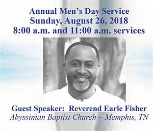 Annual Men U2019s Day Service