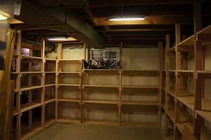 Basement shelves - by Andy Panko @ LumberJocks com