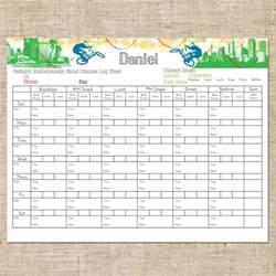 Diabetes Blood Sugar Log Sheet Printable