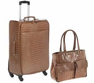 Handtasche Mit Rollen : via milano gep ckset koffer und handtasche krokolack optik page 1 ~ Eleganceandgraceweddings.com Haus und Dekorationen