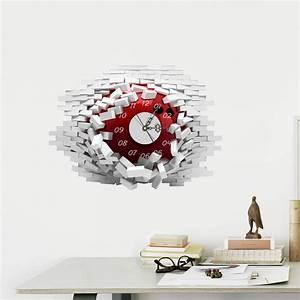Moderne Wanduhren Design : hausdeko deko uhr kreative wanduhren eu lager 3d wanduhr modern wandloch design lautlos ~ Markanthonyermac.com Haus und Dekorationen