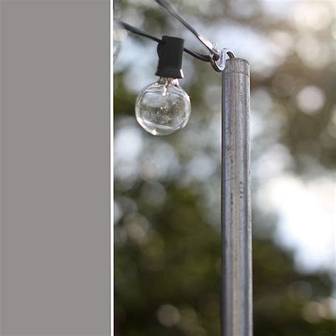 triyae backyard string lights pole various design