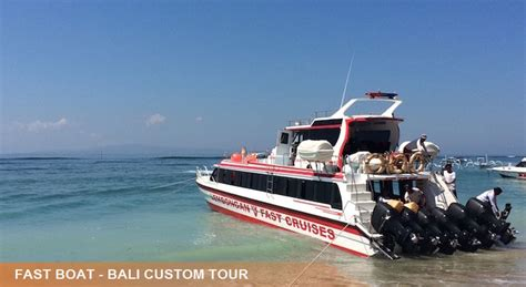 Fast Boat Lembongan Island by Fast Boat To Nusa Lembongan Reasonable Price Bali