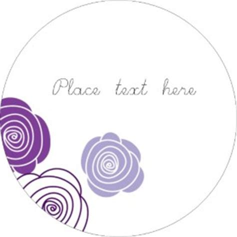 avery 22825 template templates purple roses labels 12 per sheet avery