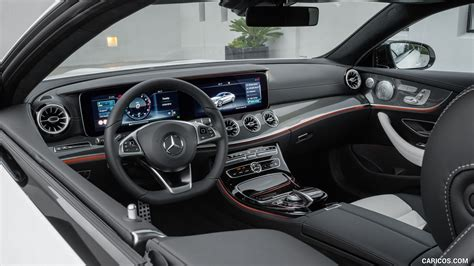They ride on a new platform and boast a more richly designed interior and more advanced driver safety aids. 2018 Mercedes-Benz E-Class Coupe - Nappa White / Black Leather Interior   HD Wallpaper #50