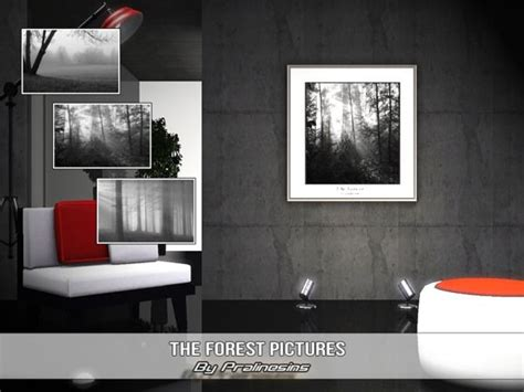 See more ideas about sims 3, wall decor, sims. The Sims Resource - TSR 3 modern forest pictures by Pralinesims (With images) | Forest pictures ...