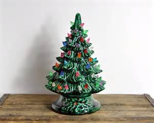 vintage ceramic tree by havenvintage on etsy