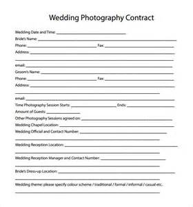 wedding photography contract wedding photography contract template 10 free documents in pdf word