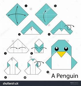 Step By Step Instructions How To Make Origami A Penguin