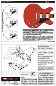 Toneshaper Guitar Wiring Kit  For Es